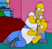 Homer imposter vs Homer