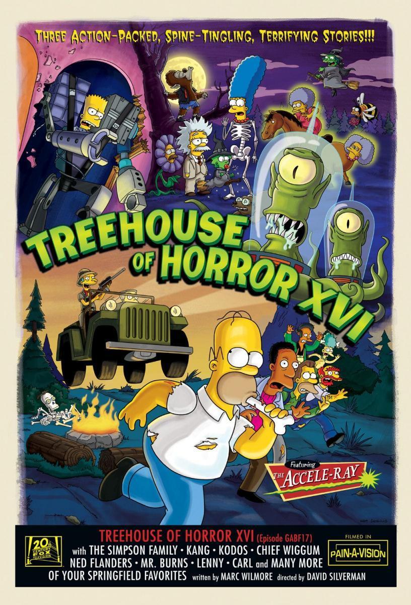 Treehouse of Horror XVI   Simpsons Wiki   FANDOM powered by Wikia