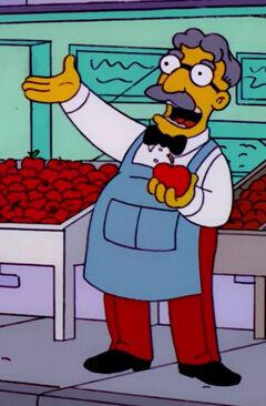 Vendedor de maçãs avat0