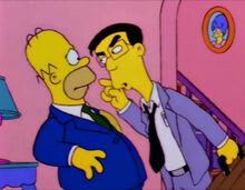 Grimey i Homer