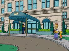 Homer bart hotel pillowmint