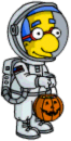 Tapped Out Milhouse Trick-or-Treating Costume