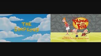 The Simpsons and Phineas and Ferb Theme Song Mix