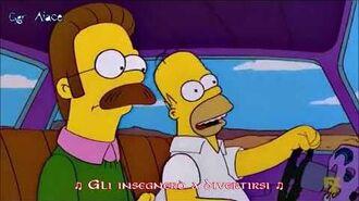 I Simpson Homer Simpson - Highway Star (Sub Ita)-0