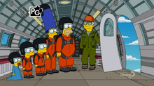 Skydiving Couch Gag (Canon)