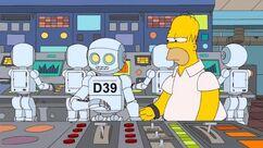Aïe, robot!