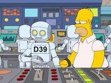 Aïe, robot !