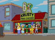 Krusty frango china