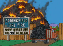 Springfield tire fire