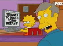 Lisa jornalista denuncia skinner