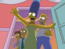 Marge homer pais darcy parem
