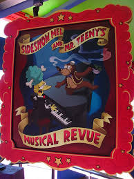 File:The Simpsons Ride Sideshow Mel & Mr. Teeny's Musical Revue Poster.jpg