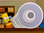 Bart links up megaphones