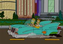 Homer carro voador