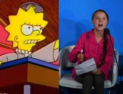 Lisa e greta meio ambiente