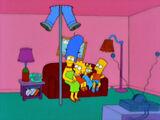 Fireman Pole couch gag