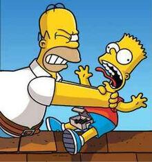 Homer duszący Barta
