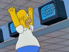 Homer perd la boule