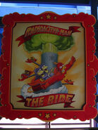 The Simpsons Ride Radioactive Man The Ride Poster