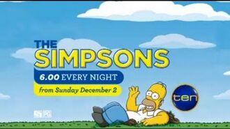The Simpsons returns to TEN!