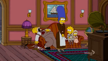 Who Dunnit Couch Gag