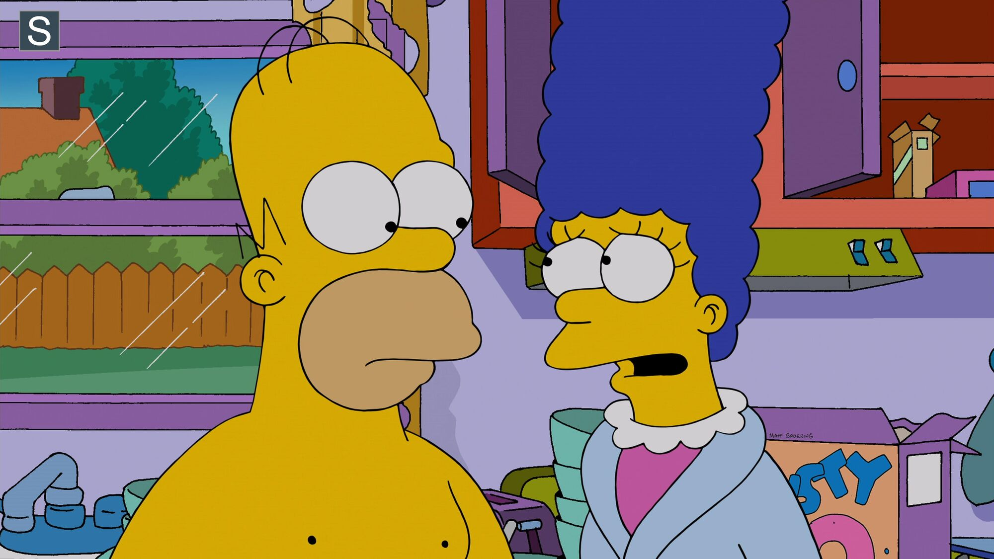 Naked Naked Pictures Of The Simpsons Scenes