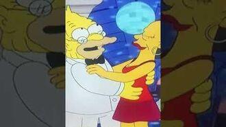 Y en eso llegó Fidel en Los Simpson