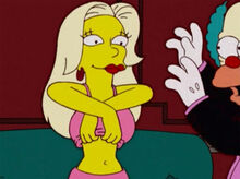 Charity titters topless krusty