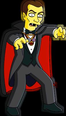 count dracula | simpsons wiki | fandom poweredwikia