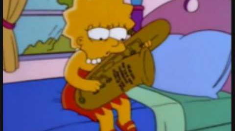 Lisa Simpson Blues