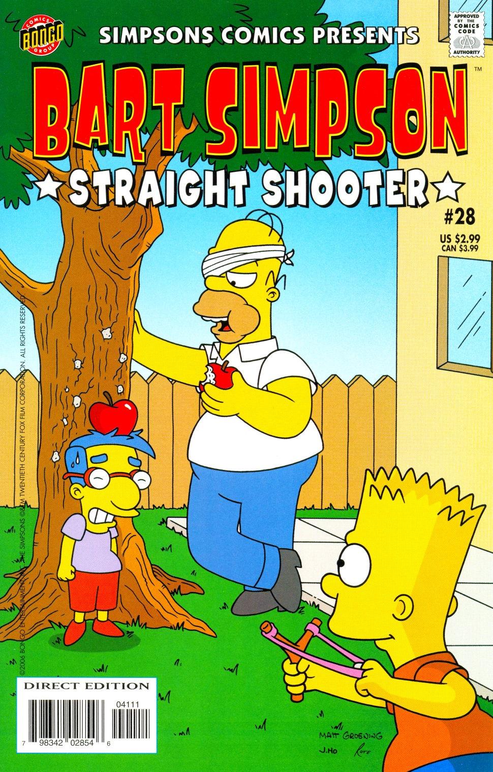 Bart Simpson Comics 28 | Simpsons Wiki | FANDOM powered by