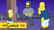 """Bart Ties A Perfect Halyard Cleat from """"The Wreck of the Relationship"""" THE SIMPSONS"""
