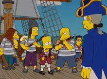 Bart motim barco skinner