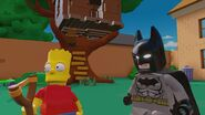 Lego Dimensions Bart Simpson with BatMan