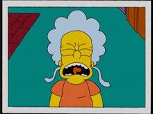 Bart não bebê 18x16