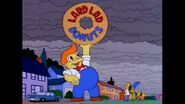 Homer Gives Lard Lad His Donut Back And Lard Lad Rejoices