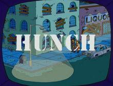 Hunch na tv