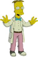 Professor Frink in The Simpsons Movie