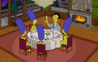 Artie Ziff na kolacji z robotami
