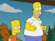 Bart homer furiosos moe conferência