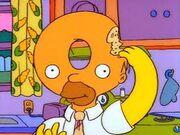 Donut Head Homer