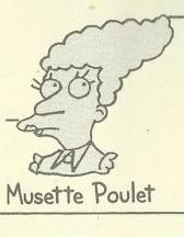 Musette Poulet