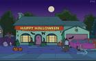 Simpsons house halloween