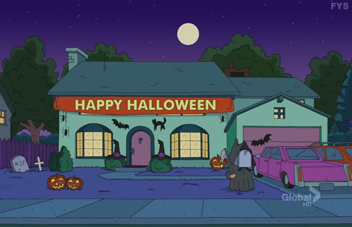 Image - Simpsons house halloween.png | Simpsons Wiki | FANDOM ...