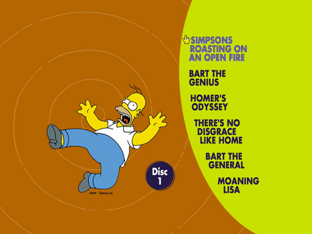 File:The Complete First Season (Disc 1 Menu).png