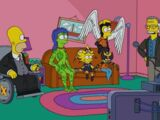 X-Men Family couch gag