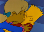 Becky Kisses Bart