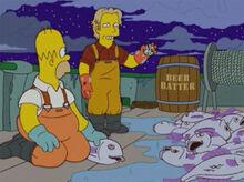 Billy barömetro homer peixes