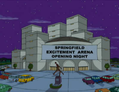 Entusiasmo de Springfield Arena