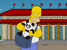 Homer panda